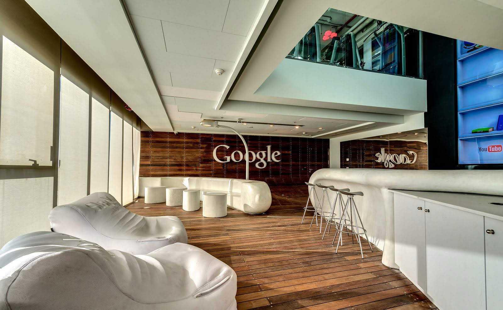 Tel Aviv Google Office Beautiful Interiors